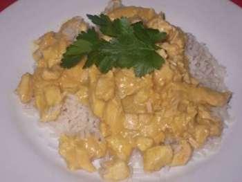 Currygeschnetzeltes vom Geflügel
