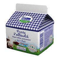 Frischmilch 0,25 l