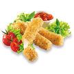 Salat mit Mozzarellasticks