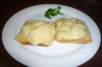 Champignon-Käse-Toast