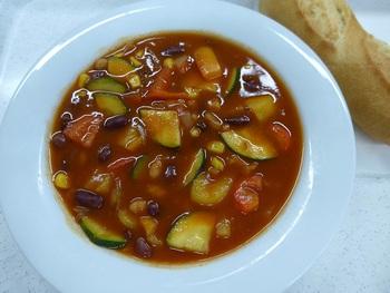 Chili sin carne (Gemüsechili)
