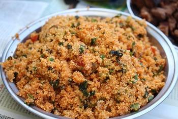 Bulgurpfanne Gemüse-Curry