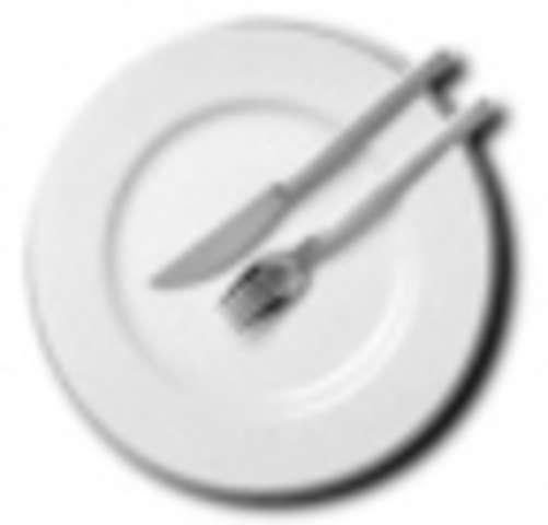 Hackbraten aus Rind- und Schweinefleisch mit Soße,Kartoffeln,Salat