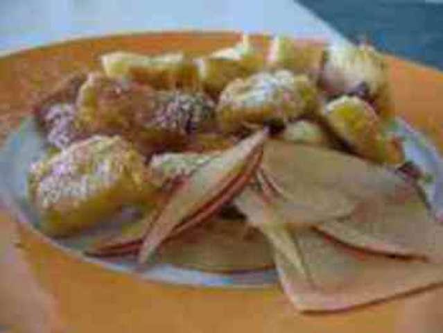 Kaiserschmarrn mit Früchten