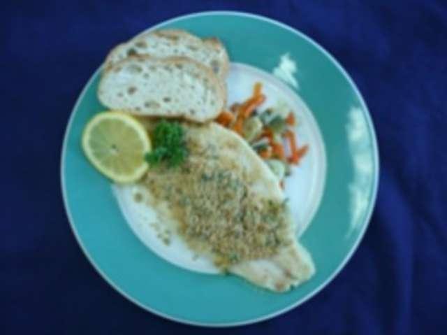 Schlemmerfilet (Fisch) u. Reis