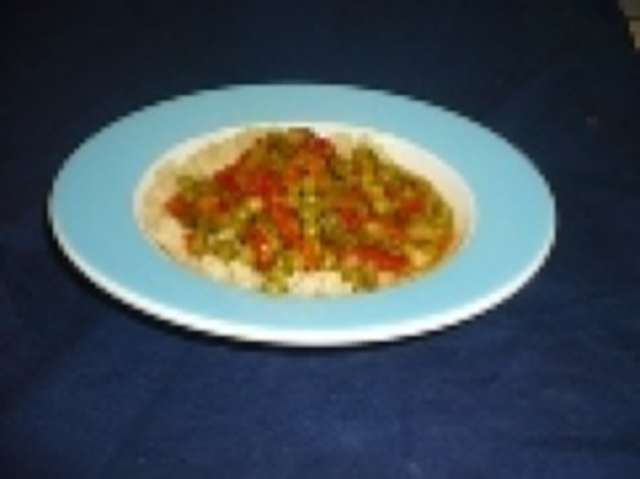 Couscous-Pfanne mit Putenfleisch