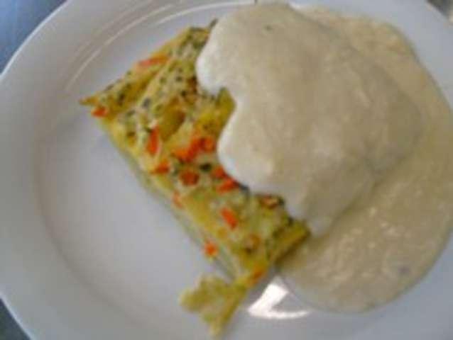 Gemüse-Kartoffelauflauf