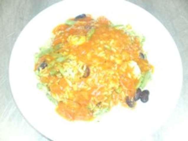 Reispfanne mit Grillgemüse