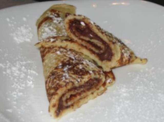 Pfannkuchen mit Nutella