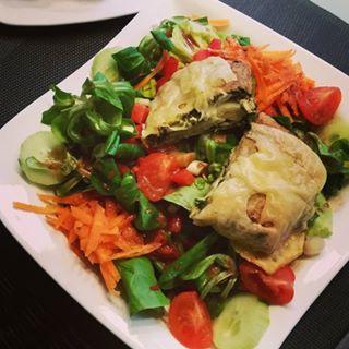 Hirtentasche mit Salat