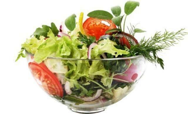 Kleiner Beilagen-Salat