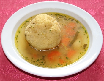 Grießnockerl Suppe