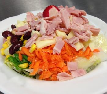 Salatteller Schi/Kä