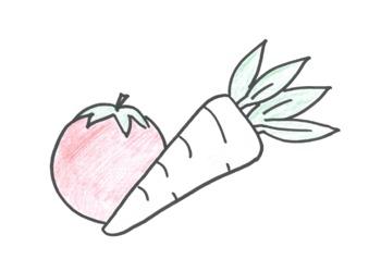 Vegetarische Blätterteigtasche (a) gefüllt mit Blattspinat (g), Kräutersoße (g), Kartoffeln, Vanillecreme (g)