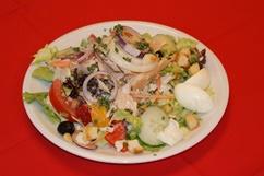 Salatteller mit Thunfisch
