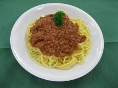 Spaghetti mit, Bolognese (Rind)