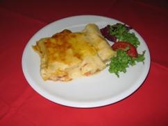 Canneloni Verdi Salat an Preiselbeere-Dressing