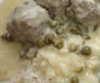 Königsberger Klopse in heller Sauce (S) mit Salzkartoffeln und Salatbeilage