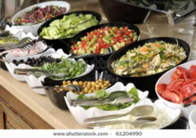 Salatteller natur