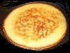 """Eierpfannkuchen """"Natur"""" dazu Zimt, Zucker, Apfelmus (veget.)"""