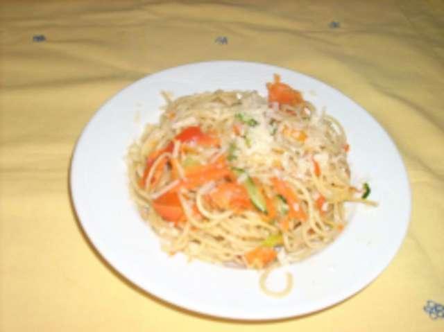 Gemüse Spaghetti