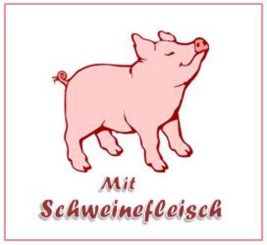 Nudeln (a,c) mit Schinken-Gemüse-Sahne-Soße (2,3,4,5,g), Mini Berliner (1,4,a)