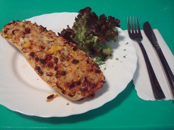 Salami Pizza Baguette 150g