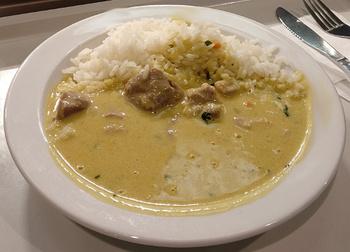 Pute (BIO!) in Curry und Kokos