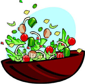 Salatbar ab 90 Cent