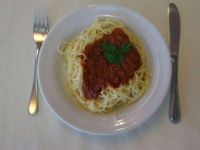 Spaghetti Bolognese (Rind)