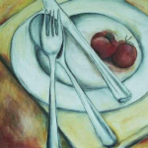"""Reispfanne """"Balkan-Art"""" mit Hackfleisch und Dessert"""