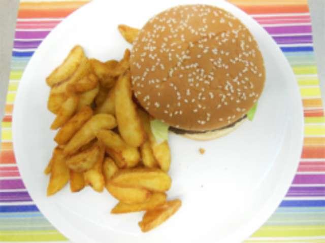 MNS-Hamburger zum Selbstbelegen , Wedges ,