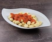 Gnocchi dazu eine Tomaten Sahnesauce