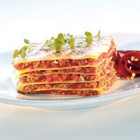 Hackfleisch Lasagne vom Rind