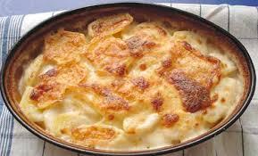 Kartoffel-Schinken-Gratin