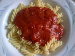Fusili mit Tomatensoße