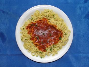 Gabelspaghetti Bolognese