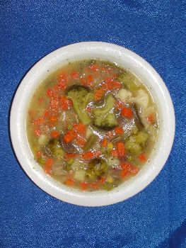 Bunter Gemüseeintopf mit Fleischeinlage