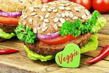 Burger vegetarisch zum selber belegen ! mit Wedges