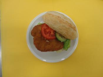 Schnitzel-Sandwich