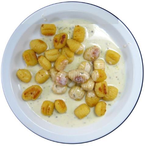 Gnocchi mit Gorgonzolasoße