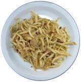 Schupfnudeln mit Sauerkraut und Speck