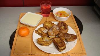 Zwetschgenbavesen, Obst