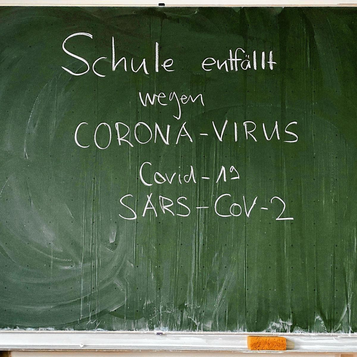 Schule enfällt wegen Corona-Virus